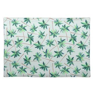 Tropical Australian foxtail palm Placemat