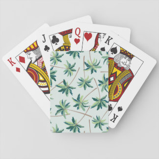 Tropical Australian Foxtail Palm Playing Cards