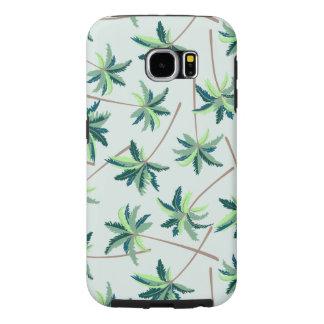 Tropical Australian foxtail palm Samsung Galaxy S6 Cases
