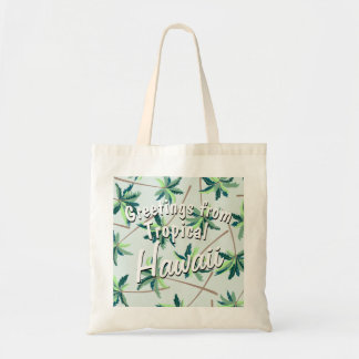 Tropical Australian foxtail palm Tote Bag