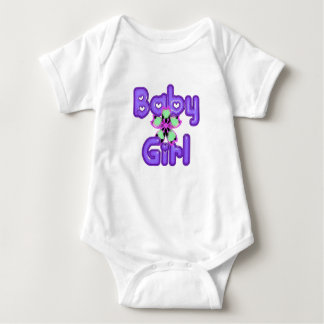 Tropical Baby Girl Baby Bodysuit