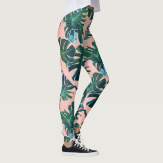 Tropical Banana Leaf Leggings