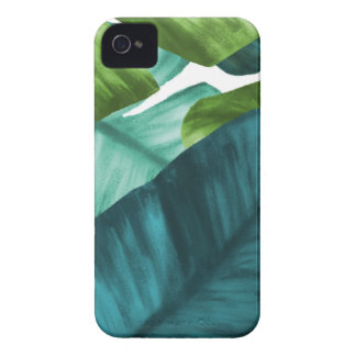 Tropical Banana Leaves Unique Pattern iPhone 4 Case-Mate Cases