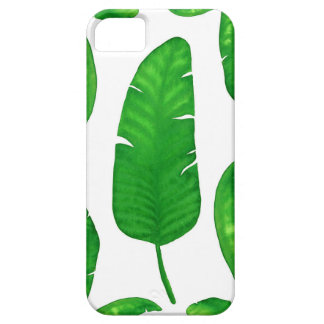 Tropical Banana Palm Leaf iPhone SE + iPhone 5/5S iPhone 5 Cases