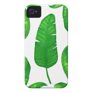 Tropical Banana Palm Leaves iPhone 4 iPhone 4 Case