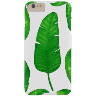 Tropical Banana Palm Leaves iPhone 6/6s Plus Barely There iPhone 6 Plus Case