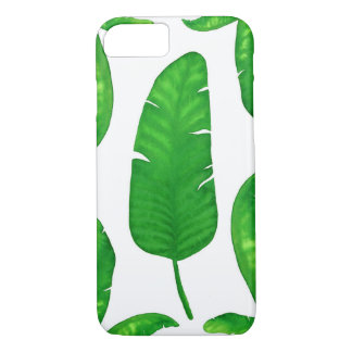 Tropical Banana Palm Leaves iPhone 7 Case