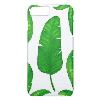 Tropical Banana Palm Leaves iPhone 7 Plus Case
