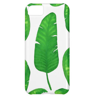 Tropical Banana Palm Leaves iPhone iPhone 5C iPhone 5C Case