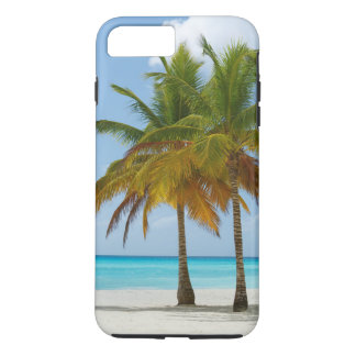 Tropical Beach and Palm Trees iPhone 7 Plus Case