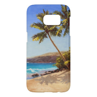 Tropical Beach and Palm Trees Island Getaway Case