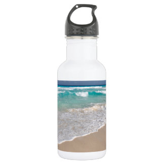 Tropical Beach and Sandy Beach 532 Ml Water Bottle