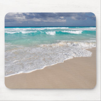 Tropical Beach and Sandy Beach Mouse Pad