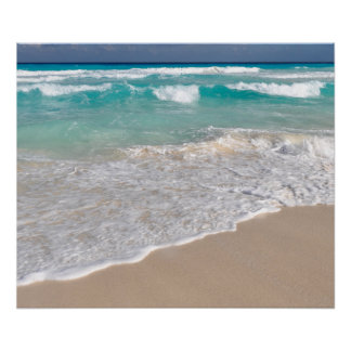 Tropical Beach and Sandy Beach Poster