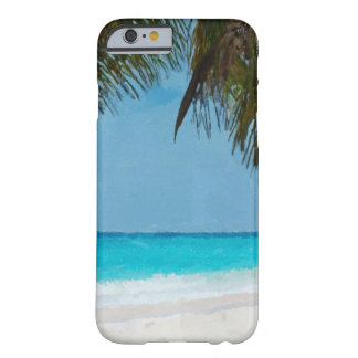 Tropical Beach Barely There iPhone 6 Case