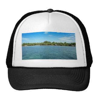 tropical beach cap