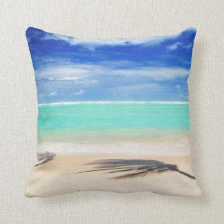 Tropical beach pillows