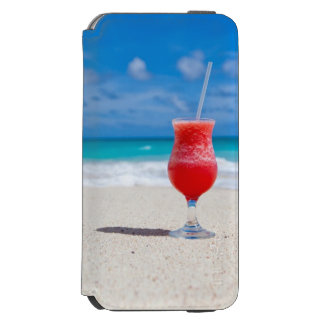Tropical Beach Daiquiri and Turquoise Water Incipio Watson™ iPhone 6 Wallet Case