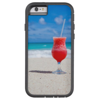 Tropical Beach Daiquiri and Turquoise Water Tough Xtreme iPhone 6 Case