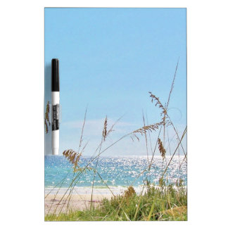 Tropical Beach Dry-Erase Boards
