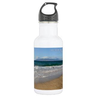 Tropical Beach in Maui Hawaii 532 Ml Water Bottle