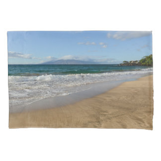 Tropical Beach in Maui Hawaii Pillowcase