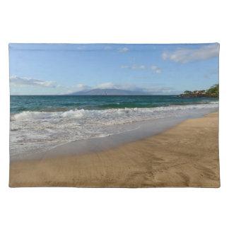 Tropical Beach in Maui Hawaii Placemat