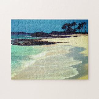 Tropical Beach Jigsaw Puzzle