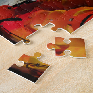 Tropical Beach Kayaks Puzzle