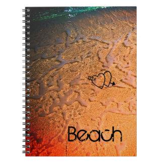 Tropical Beach Lovers Notebook