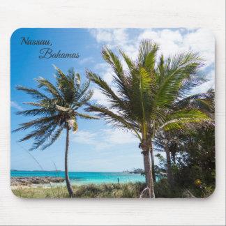 Tropical Beach Mouse Pad
