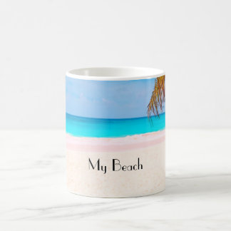 Tropical beach, My Beach Coffee Mug