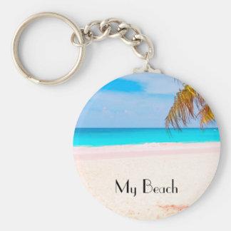 Tropical Beach, My Beach Key Ring