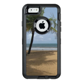 Tropical Beach Palm Tree OtterBox Defender iPhone Case