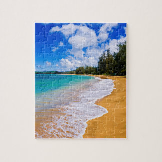Tropical beach paradise, Hawaii Puzzle