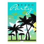 Tropical Beach Party 13 Cm X 18 Cm Invitation Card