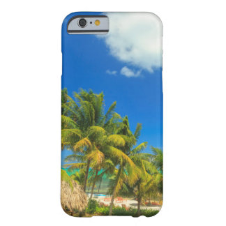 Tropical beach resort, Belize Barely There iPhone 6 Case