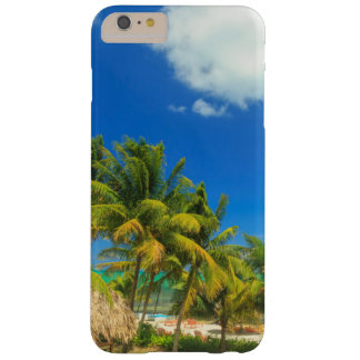 Tropical beach resort, Belize Barely There iPhone 6 Plus Case