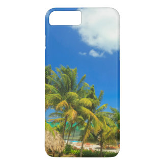 Tropical beach resort, Belize iPhone 7 Plus Case