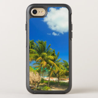 Tropical beach resort, Belize OtterBox Symmetry iPhone 7 Case