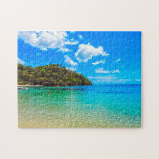 Tropical Beach Saint Vincent. Jigsaw Puzzle