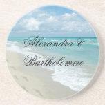 Tropical Beach Scene Personalised Keepsake
