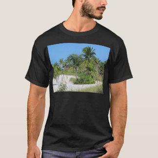 Tropical Beach Scene T-Shirt