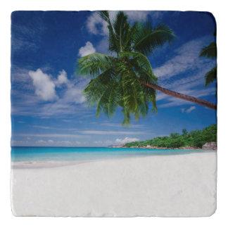 Tropical Beach   Seychelles Trivet