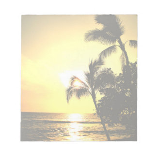 Tropical Beach Shoreline Notepad
