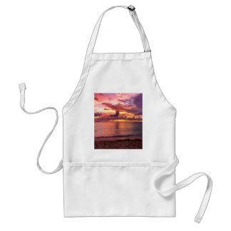 Tropical Beach Sunset Standard Apron