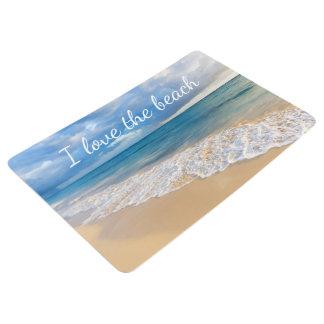 Tropical Beach Themed Floor Mat