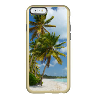 Tropical Beach Turquoise Water and Coastal Palms Incipio Feather® Shine iPhone 6 Case