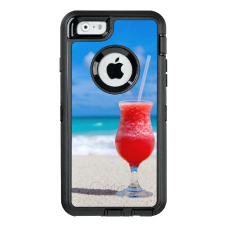 Tropical Beach Turquoise Water OtterBox Defender iPhone Case
