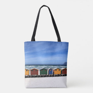Tropical Beach Vacation Dream Houses Tote Bag